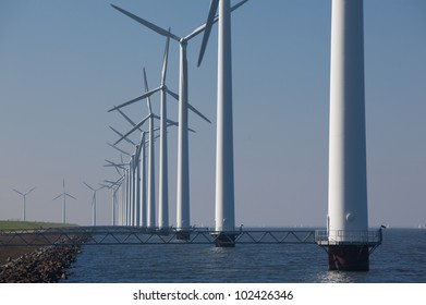 Windturbines in The Netherlands