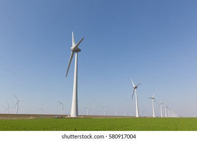 Windturbines producing alternative energy