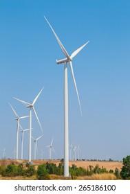 WindTurbines in Thailand.