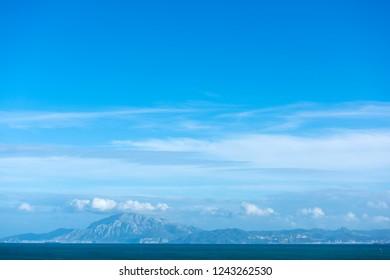 Windy bay of Tarifa