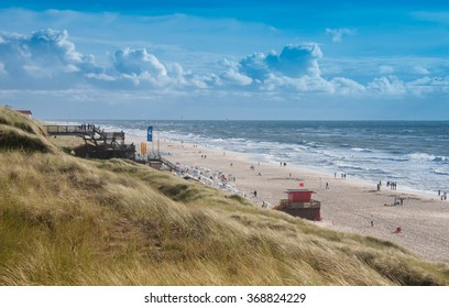 Windy day at the beach, Sylt