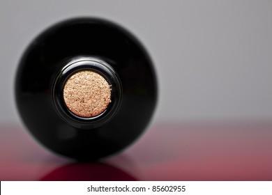 Wine botlle and cork