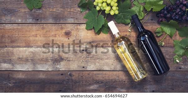 Wine bottles header