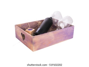 Wine box arrangement