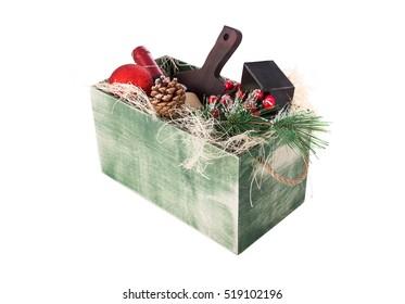 Wine box arrangement for New Year