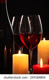 Wine With Candle