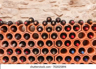 Wine cellar at home