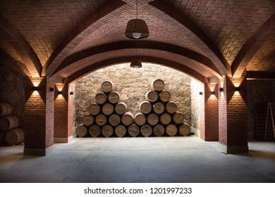 wine cellar at Tarija