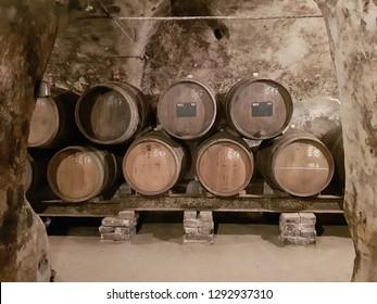 Wine cellar, Nový Šaldorf, Znojmo, Czech Republic