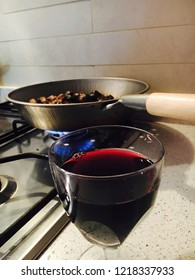 Wine and chestnuts