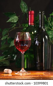 Wine composition, pink drink
