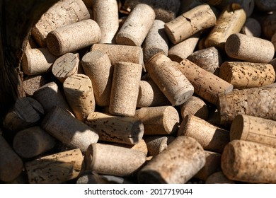 Wine corks, may be used as background. High quality photo