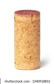 Wine corks on white