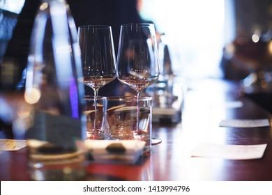 Wine degustation restaraunt party glass