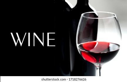 Wine design - isolated sample text