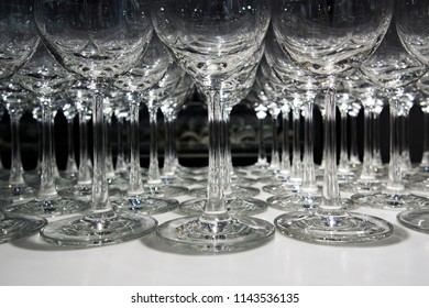 wine glasses leg background