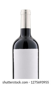 Wine isolated on a white background