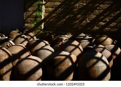 Wine jars, Ica Peru