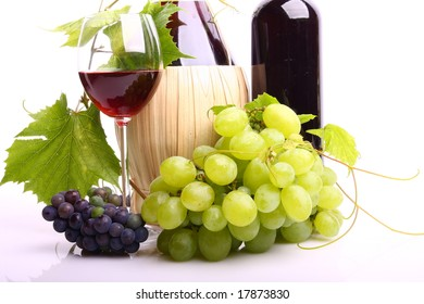 Wine made of grapes