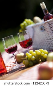 Wine on picnic!
