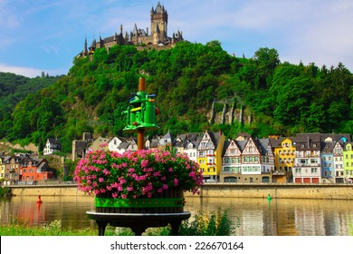 Wine press in Cochem on the Moselle in Germany