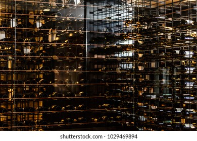 Wine rack background