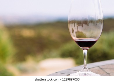 Wine sipping in California