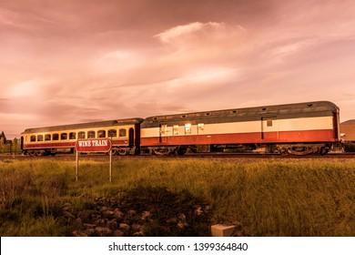 Wine Train in Napa Valley, San Francisco, California