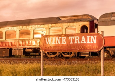 Wine Train in Napa Valley, San Francisco, California