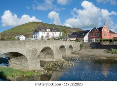 Wine Village of Rech in Ahrtal valley near Bad Neuenahr-Ahrweiler,Rhineland-Palatinate,Germany