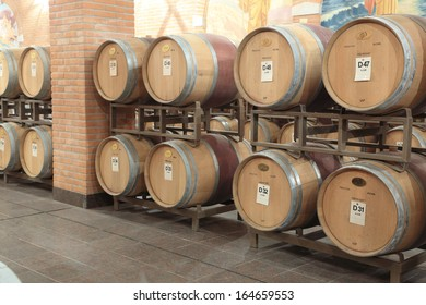 Winery producing wine barrels Veneto Amarone