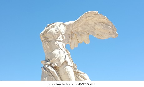 The Winged Victory of Samothrace. Montpellier. France