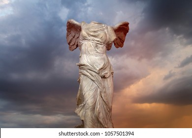 The Winged Victory of Samothrace. Victory of Samotracia Ancient Art