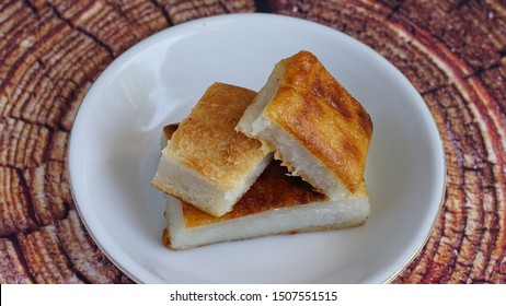Wingko Babat is Javanese traditional food Made from grated young coconut, glutinous rice flour and sugar. The combination of sugar and coconut makes this cake tasty and delicious