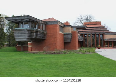 wingpoint, wisconsin - 05/09/2015: Herbert Johnson Residence (Wingspread). Built 1937. Architect Frank Lloyd Wright.