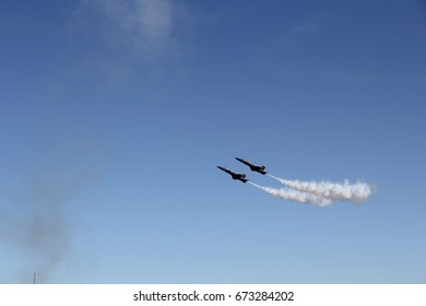 Wings over the Houston Airshow, jets performance