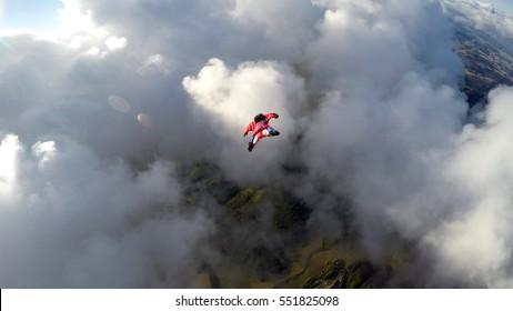 wingsuit skydive