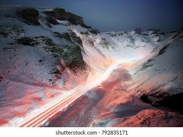 Winnats Pass, Peak District National Park
