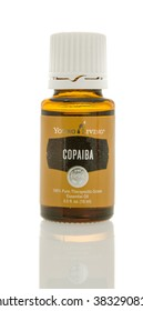 Winneconne, WI - 10 Feb 2016:  A bottle of Young Living copaiba oil