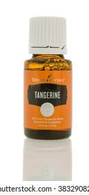 Winneconne, WI - 10 Feb 2016:  A bottle of Young Living tangerine  oil