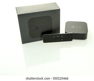 Winneconne, WI - 11 Dec 2015:  A new 4th generation of an Apple TV.