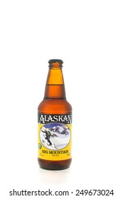 Winneconne, WI - 3 February 2015:  Alaskan beer was first brewed in 1986 and located in Juneau, AK.