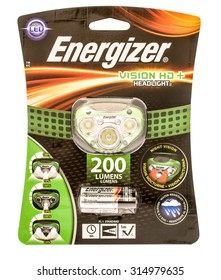 Winneconne, WI - 9 Sept 2015:  An Energizer headlight so one may work while it's dark and use both hands.