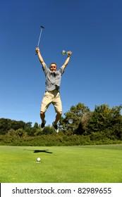 the winner of a golf tournament