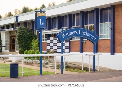 The Winner's Enclosure at Windsor Racecourse on MONDAY 16 OCTOBER 2017
