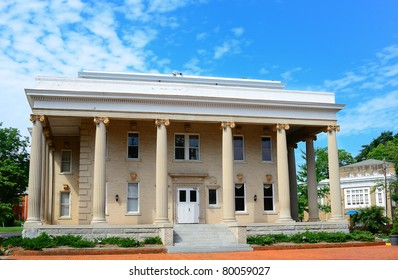 Winnie Davis Hall is a historic female dormitory located on the former grounds of the U.S. Navy Supply Corps School, Athens, GA, USA.