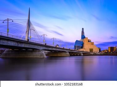 Winnipeg at dawn