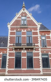 WINSCHOTEN, NETHERLANDS - MARCH 26, 2016: Old house in the center of Winschoten, Netherlands