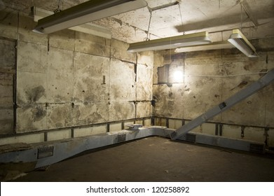 Winston Churchill's Cabinet met in this bunker codenamed Paddock in Dollis Hill,  London. The site was top secret until recently. Lighting and air conditioning were state of the art for World War II.