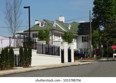 WINSTON-SALEM, NC / USA - APRIL 2015: Downtown Home